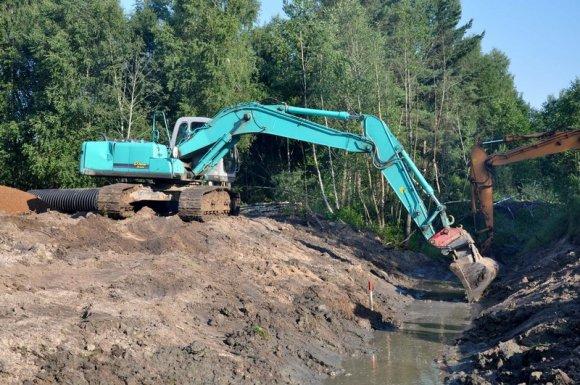 Entreprise de terrassement pour viabilisation de terrain à Guichen