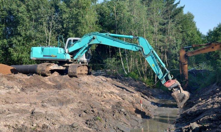 Viabilisation de terrain à Guichen - Cheminel Stéphane : travaux publics